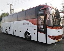 ضد عفونی اتوبوس های ایمن سفر قبل از شروع سفر